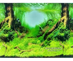 Фон для аквариума односторонний высота 80см.(9045) Цена 25м.