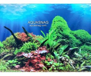 Фон для аквариума односторонний высота 80см.(9097) Цена 25м.