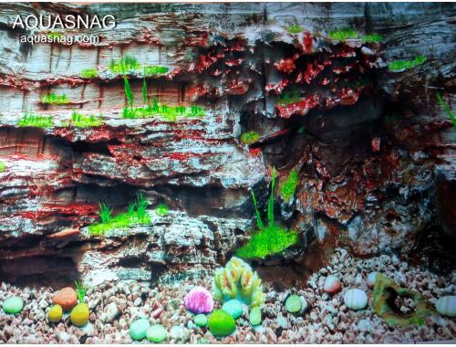 Фото Фон для аквариума односторонний высотой 40см(9035), цена 10см Смотреть
