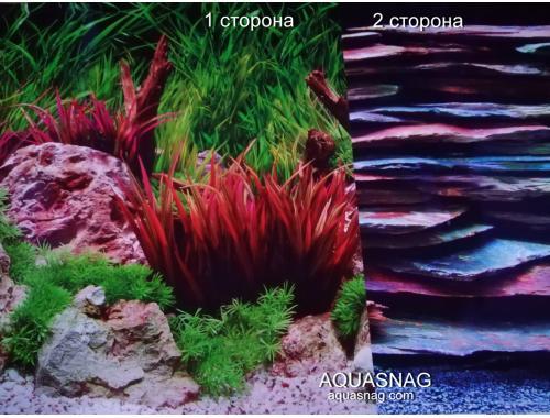 Фото Фон для аквариума плотный двухсторонний (978), высота 45cм,  цена за 10см Купить
