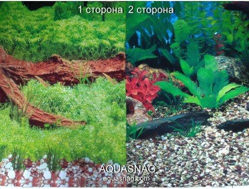 Фото Фон для аквариума плотный двухсторонний, высота 40cм(9008-9019), цена за 10см Смотреть