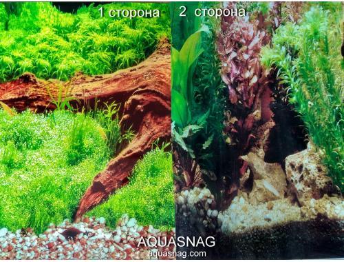 Фото Фон для аквариума плотный двухсторонний, высота 40cм(9008-9058), цена за 10см aquasnag.com