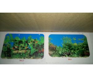 Фон для аквариума плотный двухсторонний, высота 40cм(9013-9031), цена за 15м