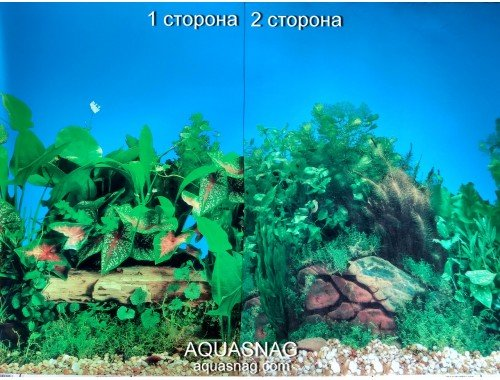 Фото Фон для аквариума плотный двухсторонний, высота 40cм(9014-9031), цена за 10см Смотреть
