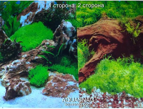 Фото Фон для аквариума плотный двухсторонний, высота 40cм(9028-9008), цена за 10см aquasnag.com