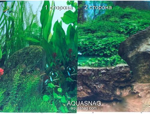 Фото Фон для аквариума  плотный двухсторонний, высота 40cм(9038-9062), цена за 10см Смотреть