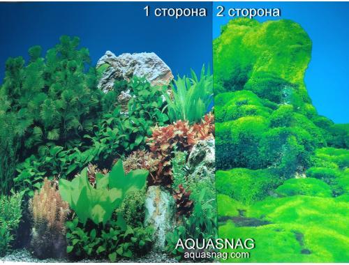 Фото Фон для аквариума плотный, двухсторонний высота 40cм(9071-9064), цена за 10см Купить