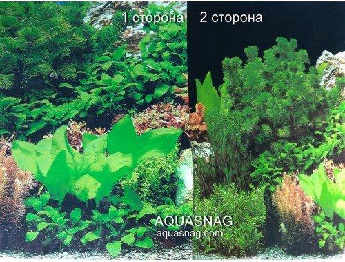 Фото Фон для аквариума  плотный двухсторонний, высота 40cм(9071синб-9071чер), цена за 10см aquasnag.com