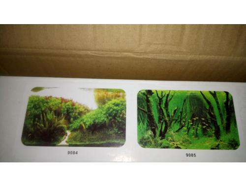 Фото Фон для аквариума плотный двухсторонний, высота 40cм(9084-9085), цена за 15м Купить