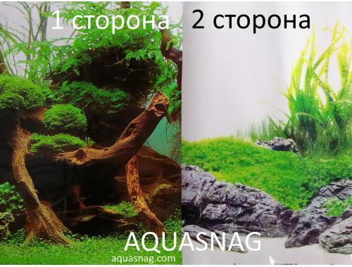 Фото Фон для аквариума плотный двухсторонний, высота 45cм(124), цена за 10см aquasnag.com
