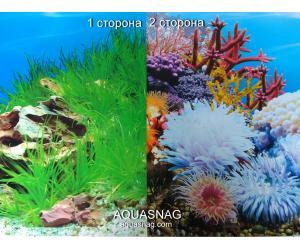 Фон для аквариума плотный двухсторонний, высота 50cм(9022-8006), цена за 10см