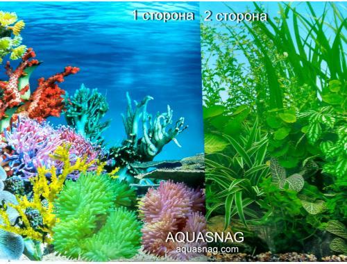 Фото Фон для аквариума плотный двухсторонний, высота 50cм(9024-9051), цена за 10см Смотреть