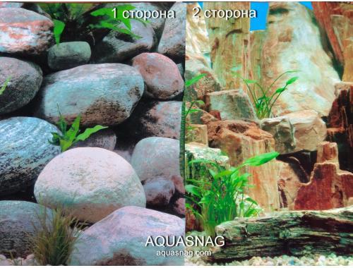 Фото Фон для аквариума плотный двухсторонний, высота 50cм(9025-9023), цена за 10см Купить