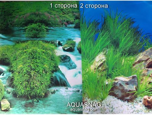 Фото Фон для аквариума плотный двухсторонний, высота 50cм(9037-9022), цена за 10см aquasnag.com