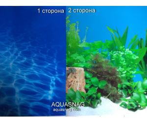 Фон для аквариума плотный двухсторонний, высота 50cм(9063-), цена за 10см