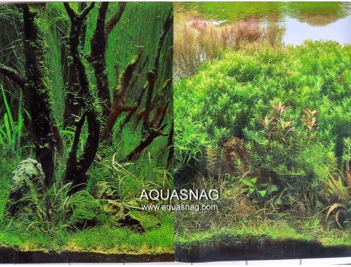 Фото Фон для аквариума плотный двухсторонний, высота 50cм(9084-9085), цена за 10см Смотреть