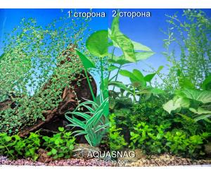 Фон для аквариума плотный двухсторонний, высота 50cм(F8-F7), цена за 10см