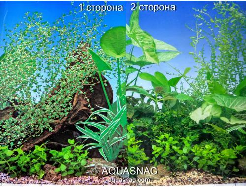 Фото Фон для аквариума плотный двухсторонний, высота 50cм(F8-F7), цена за 10см Смотреть