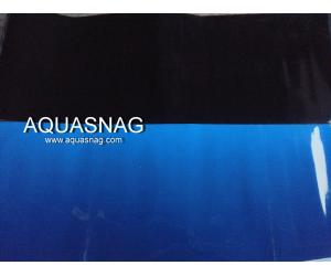 Фон для аквариума плотный двухсторонний, высота 50cм(черный-синий), цена за 10см