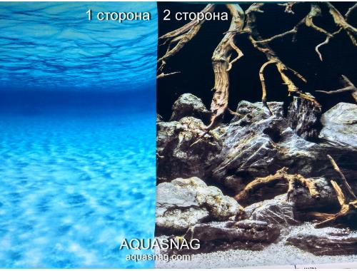Фото Фон для аквариума плотный двухсторонний, высота 60cм (188), цена за 10см Купить