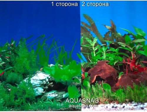 Фото Фон для аквариума плотный двухсторонний, высота 60cм(9003-9059), цена за 10см aquasnag.com