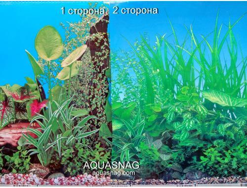 Фото Фон для аквариума плотный двухсторонний, высота 60cм(9011-9051), цена за 10см aquasnag.com