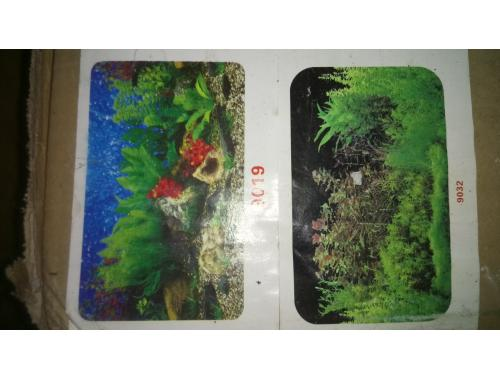 Фото Фон для аквариума плотный двухсторонний, высота 60cм(9019-9023), цена за 15м aquasnag.com