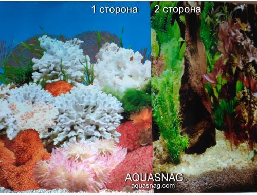 Фото Фон для аквариума плотный двухсторонний, высота 60cм(9029-9058), цена за 10см Смотреть