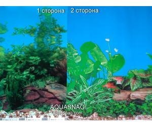 Фон для аквариума плотный двухсторонний, высота 60cм(9031-9011), цена за 10см