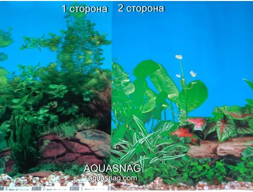 Фото Фон для аквариума плотный двухсторонний, высота 60cм(9031-9011), цена за 10см aquasnag.com