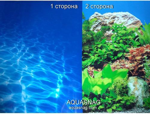Фото Фон для аквариума плотный двухсторонний, высота 60cм(9063-9071), цена за 10см Купить