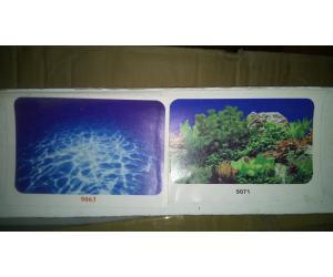 Фон для аквариума плотный двухсторонний, высота 60cм(9063-9071), цена за 15м