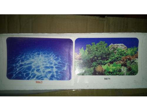 Фото Фон для аквариума плотный двухсторонний, высота 60cм(9063-9071), цена за 15м Купить