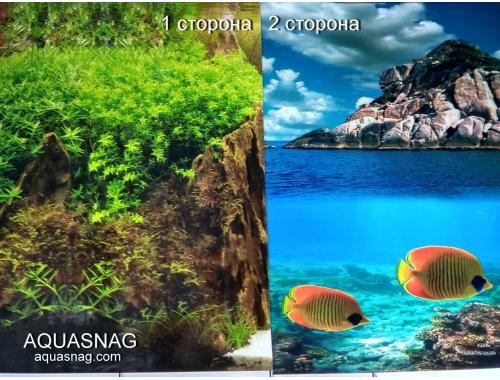 Фото Фон для аквариума плотный двухсторонний, высота 60cм(9082-9067), цена за 10см aquasnag.com