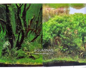 Фон для аквариума плотный двухсторонний, высота 60cм(9085-9084), цена за 10см