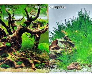 Фон для аквариума плотный двухсторонний, высота 80cм(9098-9022), цена за 10см