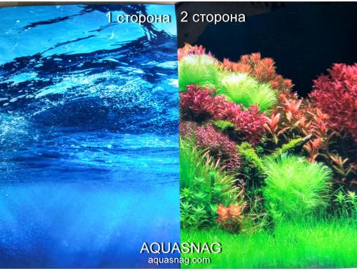 Фото Фон для аквариума плотный двухсторонний, высотой 40cм(8008-8007), цена за 10см Купить