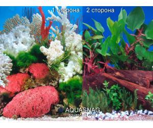 Фон для аквариума плотный двухсторонний высотой 60см. (9029-9059) Цена за 10см