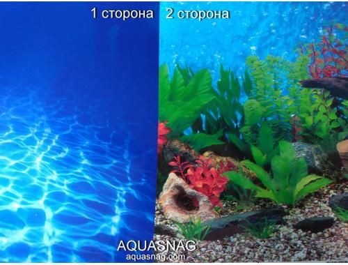 Фото Фон для аквариума плотный двухсторонний высотой 60см (9063-9019), цена за 10см Купить