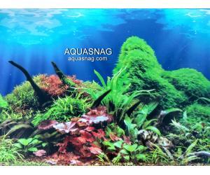 Фон для аквариума тонкий односторонний высота 80см.(9097) Цена 10cм.
