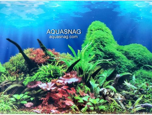 Фото Фон для аквариума тонкий односторонний высота 80см.(9097) Цена 10cм. Смотреть
