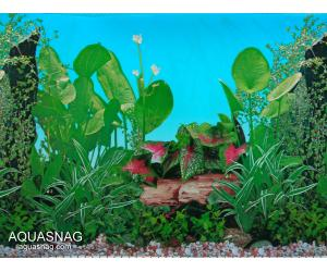 Фон для аквариума тонкий односторонний высотой 30см, длина 25м (9011)