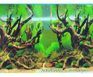 Фон для аквариума тонкий односторонний высотой 80см.(9098) Цена за 25м.