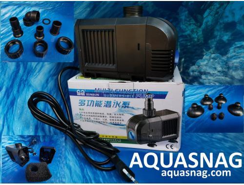 Фото Фонтанный насос Sunsu HJ-3000,  3м, 3000l/h, 55W, с регулировкой мощности aquasnag.com