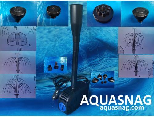 Фото Фонтанный насос Sunsun HJ-1100 с насадками Atman S  (1.5м, 900l/h, 20W) с регулировкой мощности aquasnag.com