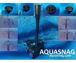 """Фонтанный насос с насадками """"Atman"""" S Sunsun HJ-2200,  2м, 2000l/h, 35W, с регулировкой мощности"""