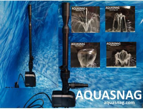 Фото Фонтанный насос с насадками Sunsun HJ-1500,  1.8м, 1500l/h, 25W, с регулировкой мощности Смотреть