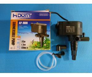 Головка HiDom AP-1600, 1200л/ч, 25W, Hmax-1.4m, от 200л до 350л воды.