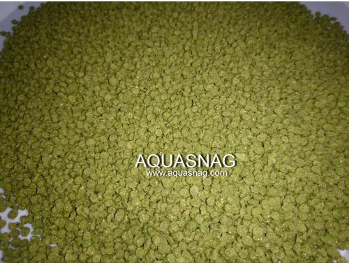 Фото Гранулы Флора №2 -250г, корм со специальными растительными добавками, ТМ Золотая Рыбка aquasnag.com