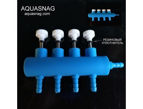 Фото Гребенка с плавной регулировкой на четыре выхода aquasnag.com